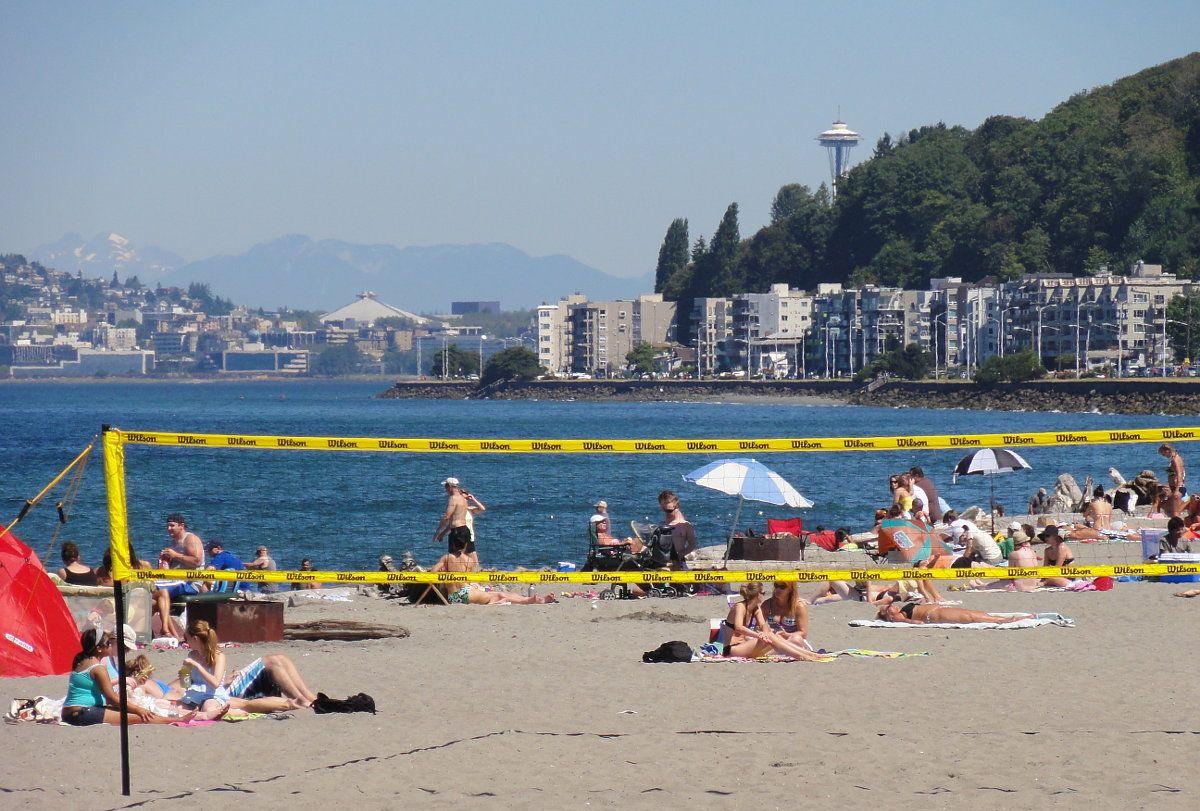 What do do on Alki Beach, Seattle Washington.